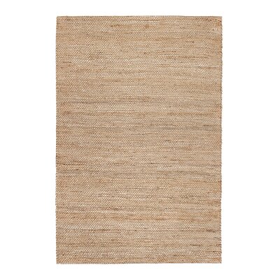Oyola Hand-Woven Tan Area Rug Rug Size: 9 x 12