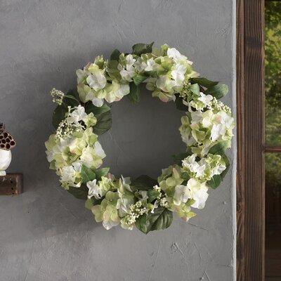 Faux Hydrangea & Berry Wreath