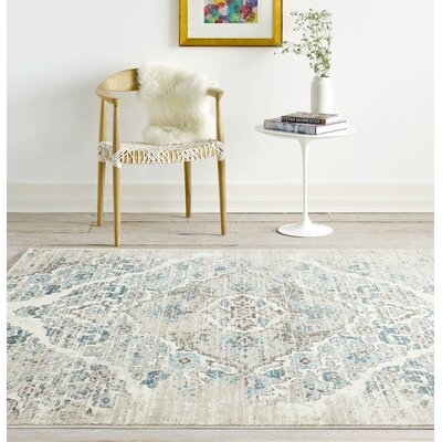Paden Cream Indoor/Outdoor Area Rug Rug Size: 710 x 106