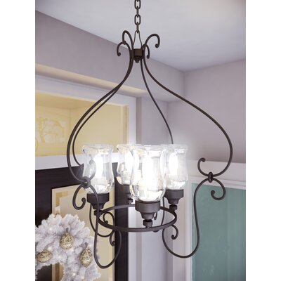 Padro 4-Light Candle-Style Chandelier