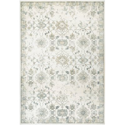 Nicolas Cream Area Rug Rug Size: Rectangle 37 x 53