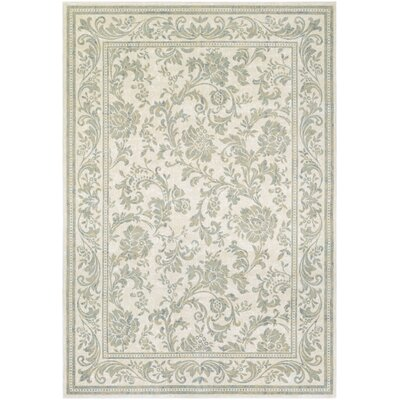 Nicolas Beige Area Rug Rug Size: Rectangle 53 x 76