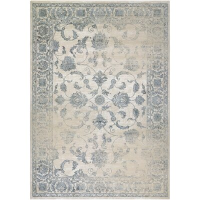 Nicolas Beige/Gray Area Rug Rug Size: Rectangle 710 x 112