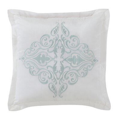 Immortelle Square Throw Pillow Color: Mint