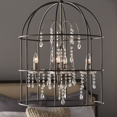 Argens 4-Light Crystal Chandelier