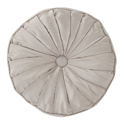 Empress Throw Pillow Color: Taupe