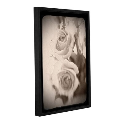 'Abstract Rose 1' Framed Graphic Art Size: 12