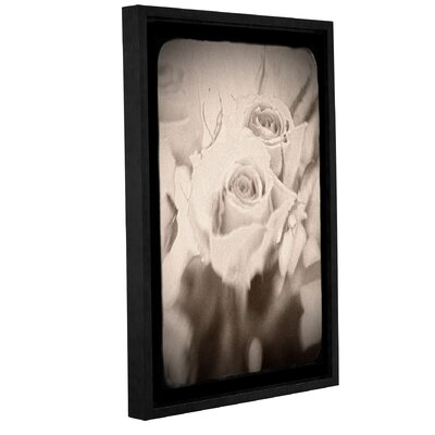 'Abstract Rose 2' Framed Graphic Art Size: 12