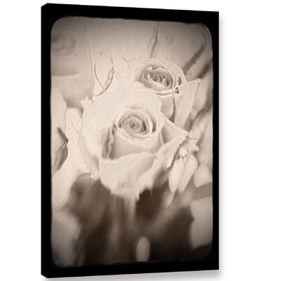 'Abstract Rose 2' Graphic Art on Wrapped Canvas Size: 12