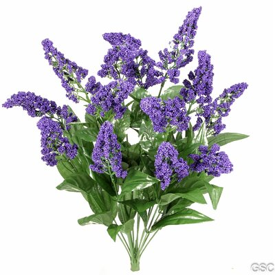 14 Stems Artificial Heather Fillers Bush and Greenery Color: Purple