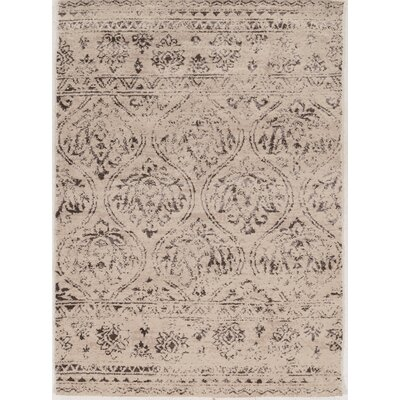 Feliciana�Traditional�Silk Hand-Tufted Traditional  Ivory Area Rug Rug Size: 2 x 3