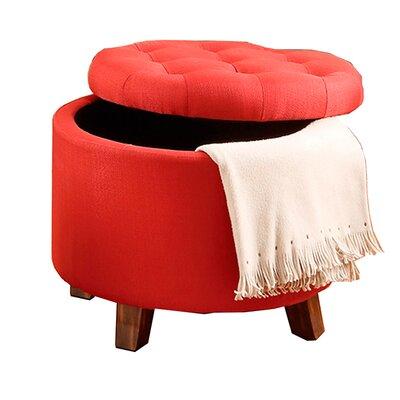 Palazzolo Storage Ottoman Upholstery: Carmine