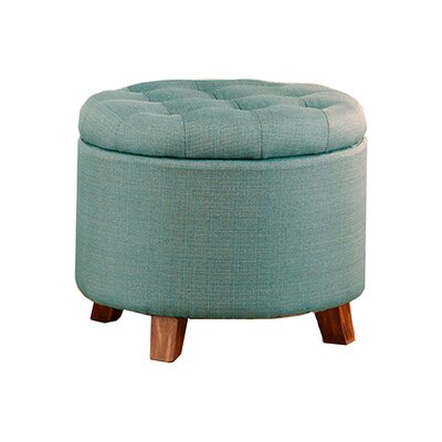 Ismenia Storage Ottoman Upholstery: Light Blue