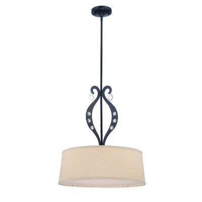 Palladino 3-Light Drum Pendant