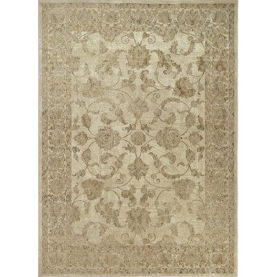 Georgiana Natural Area Rug Rug Size: 52 x 72