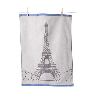 Eiffel Tower Jacquard Towel