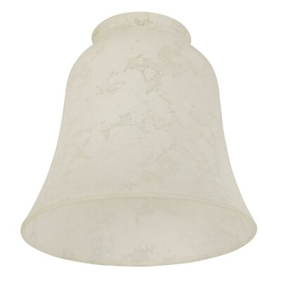 5.5 Glass Bell Pendant Shade Glass: Alabaster Frost