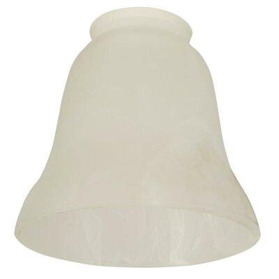 Palu 5.5 Glass Bell Pendant Shade Glass: Alabaster Swirl