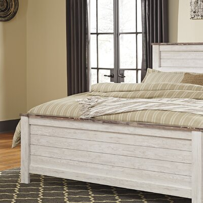Naples Panel Headboard Size: King