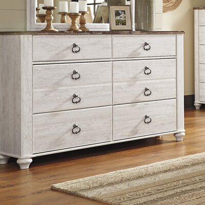 Pancoast 6 Drawer Dresser