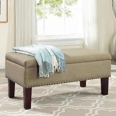 Beames Storage Ottoman Upholstery: Beige