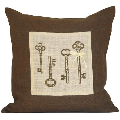 Maelys Jute Throw Pillow