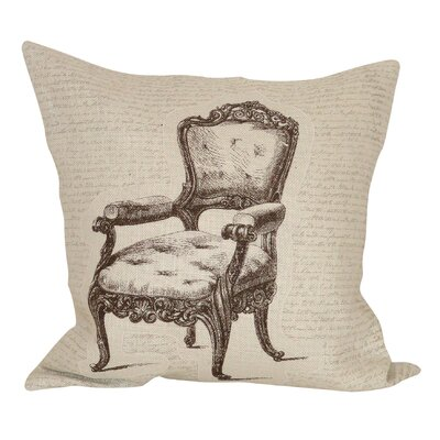 Panthea Cotton Throw Pillow