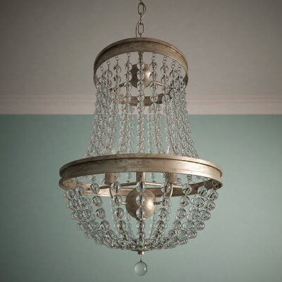 Papadopoulos 3-Light Crystal Chandelier