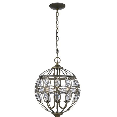 Bothwell 3-Light Foyer Pendant