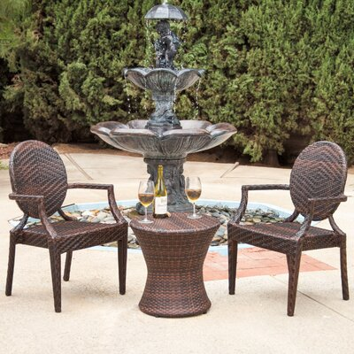 Jazouli 3 Piece Dining Set