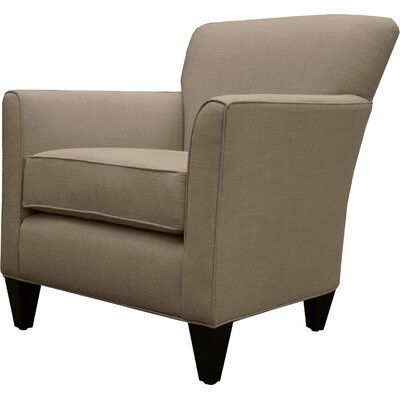 Parise Linen Arm Chair Finish: Camo