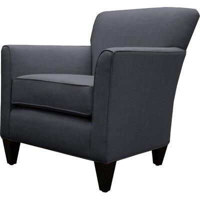 Parise Linen Arm Chair Finish: Charcoal