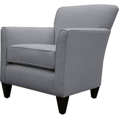 Danville Linen Armchair Finish: Grey
