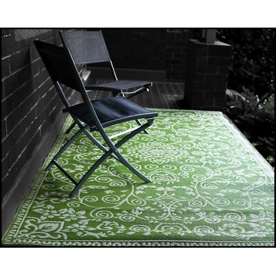 Fontayne Lime Green Indoor/Outdoor Area Rug Rug Size: 4 x 6