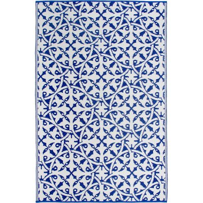 Fontayne Blue Indoor/Outdoor Area Rug Rug Size: 6 x 9