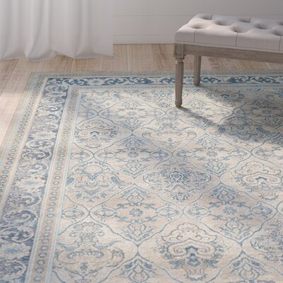 Basswood Beige Area Rug Rug Size: Rectangle 33 x 53