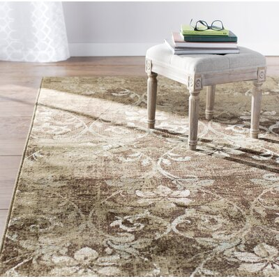 Giroflee Brown Area Rug Rug Size: 77 x 1010