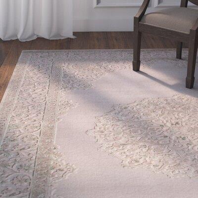 Calixta Ivory/Beige Area Rug Rug Size: 9 x 12