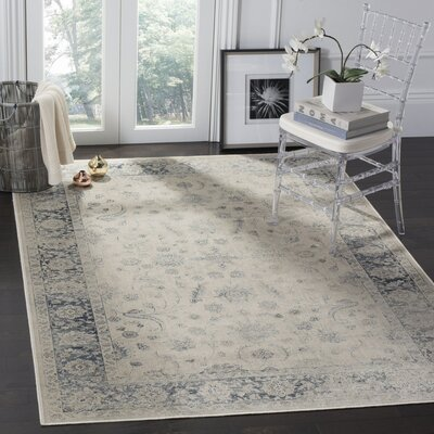 Malakoff Stone Area Rug Rug Size: Rectangle 33 x 57
