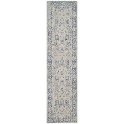 Dampierre Gray Area Rug Rug Size: Rectangle 67 x 9