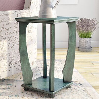 Stephane End Table Finish: Caribbean Blue