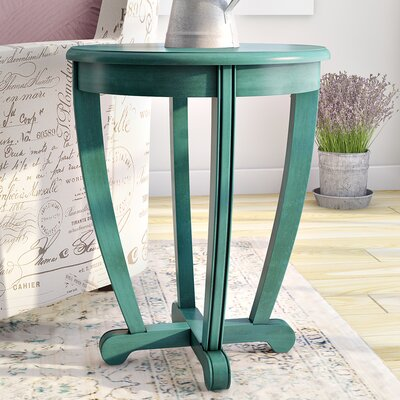 Esmond End Table Color: Blue