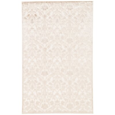 Calixta Ivory/Taupe Area Rug Rug Size: 2 x 3