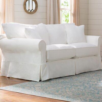 Paez Sofa Upholstery: Classic Bleach White