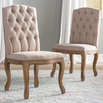 Pardee Parsons Chair Upholstery: Linen