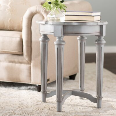 Pendelton End Table Finish: Gray