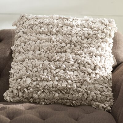 Eillet Throw Pillow Color: Gray