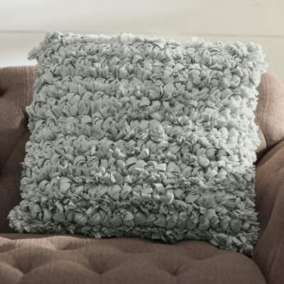 Eillet Throw Pillow Color: Silver