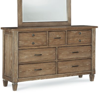 Armoise 7 Drawer Double Dresser