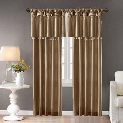 Rivau Solid Tab Top Single Curtain Panel